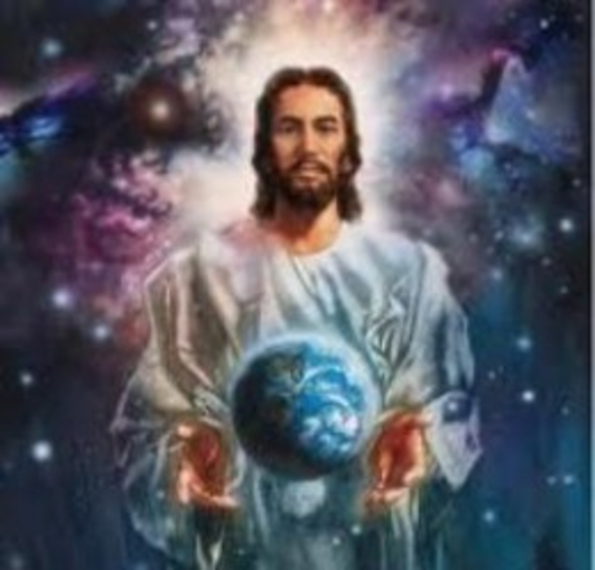 This is one of the many photos that represents our Lord Jesus Christ, who has been the greatest man that ever lived on earth and the greatest commandment for all humanity was; love your Lord God and thy neighbour as yourself.