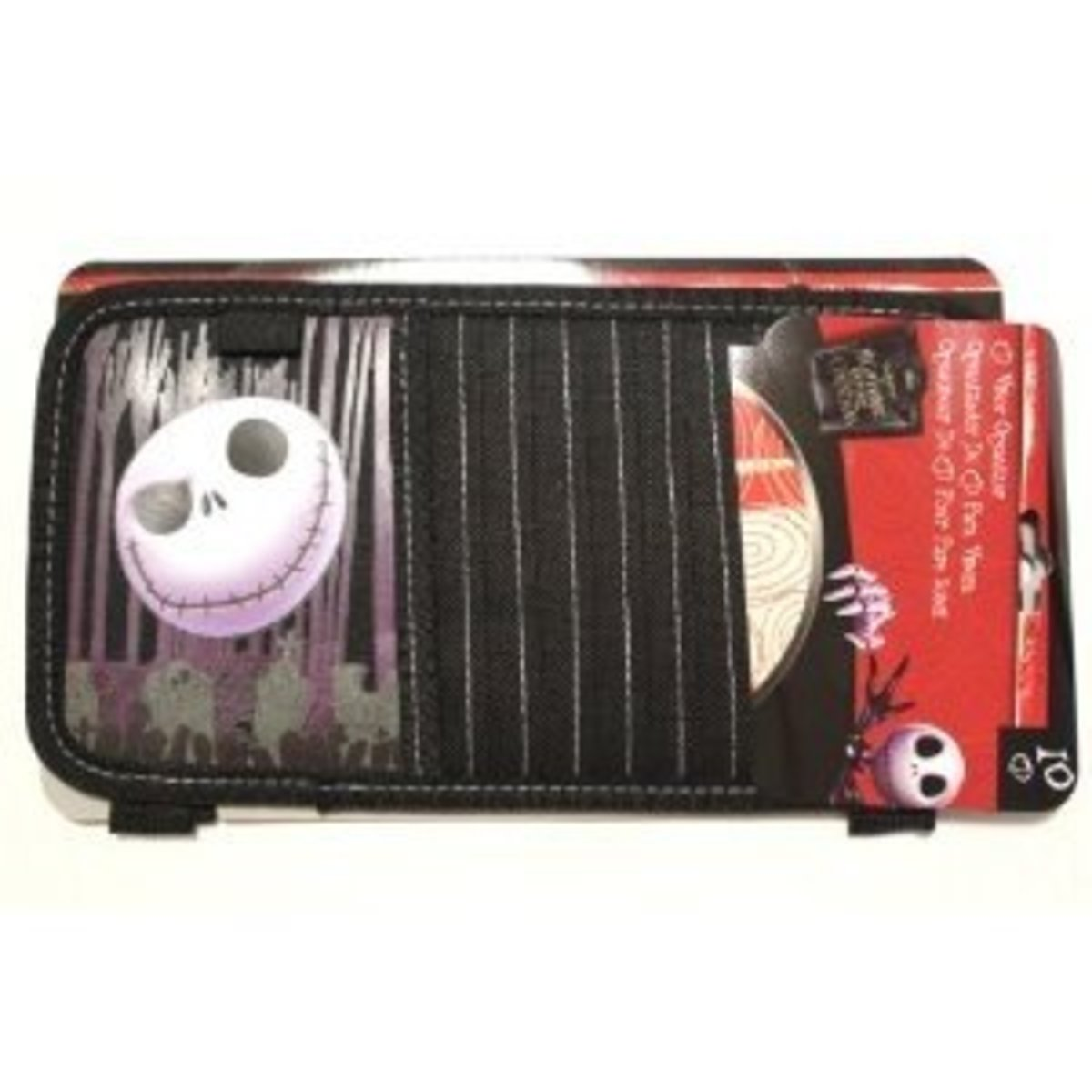 Nightmare Before Christmas 10 Cd Visor Organizer