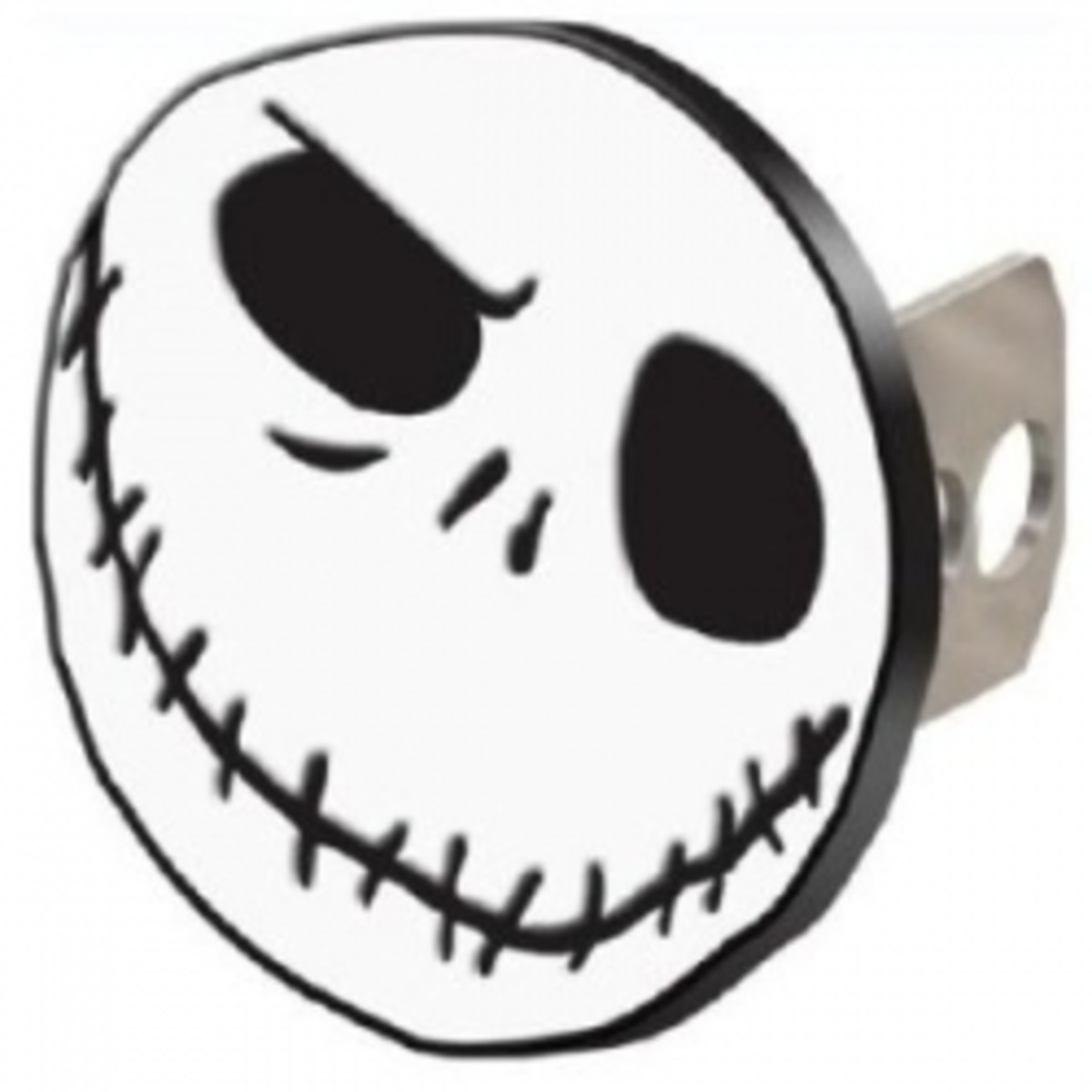 Nightmare Before Christmas Jack Skellington Hitch Plug Receiver Cover
