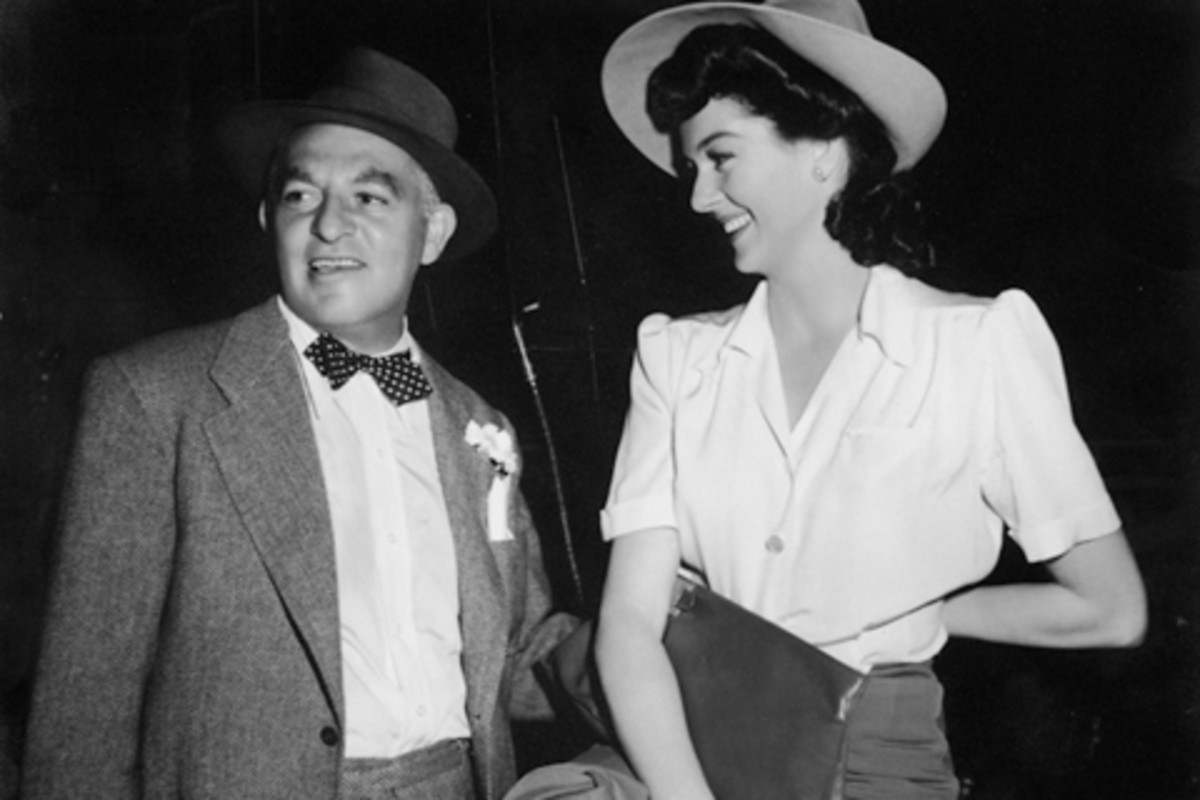 Cohn with Rosalind Russell
