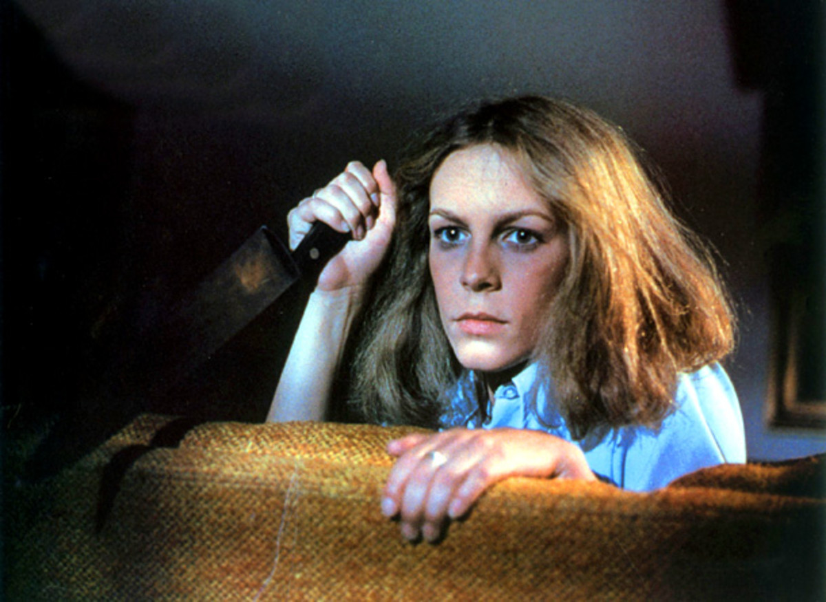 "Jamie Lee Curtis followed in her mother's footsteps to become a ""Scream Queen"" thanks to her role in Halloween (1978)"