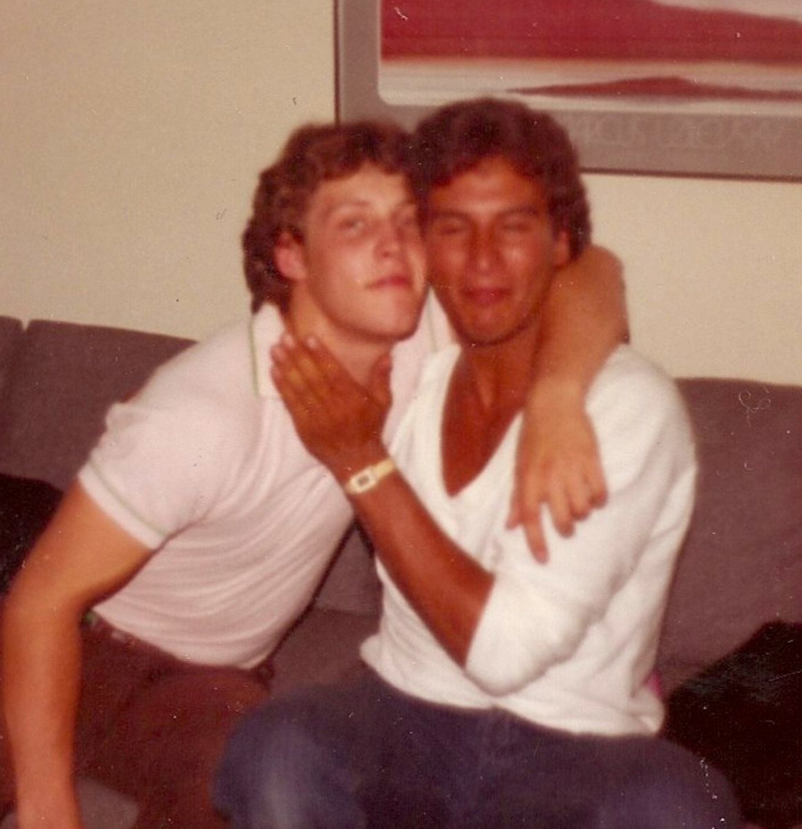 Cousin Peter Kellerman and my Brother Richard New York City 1983