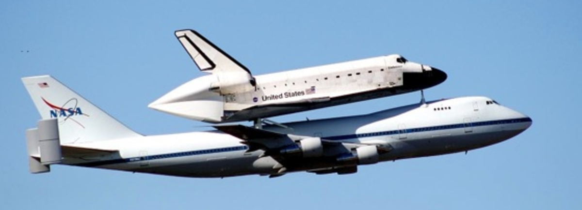 Just Like the Space Shuttle on a 747!