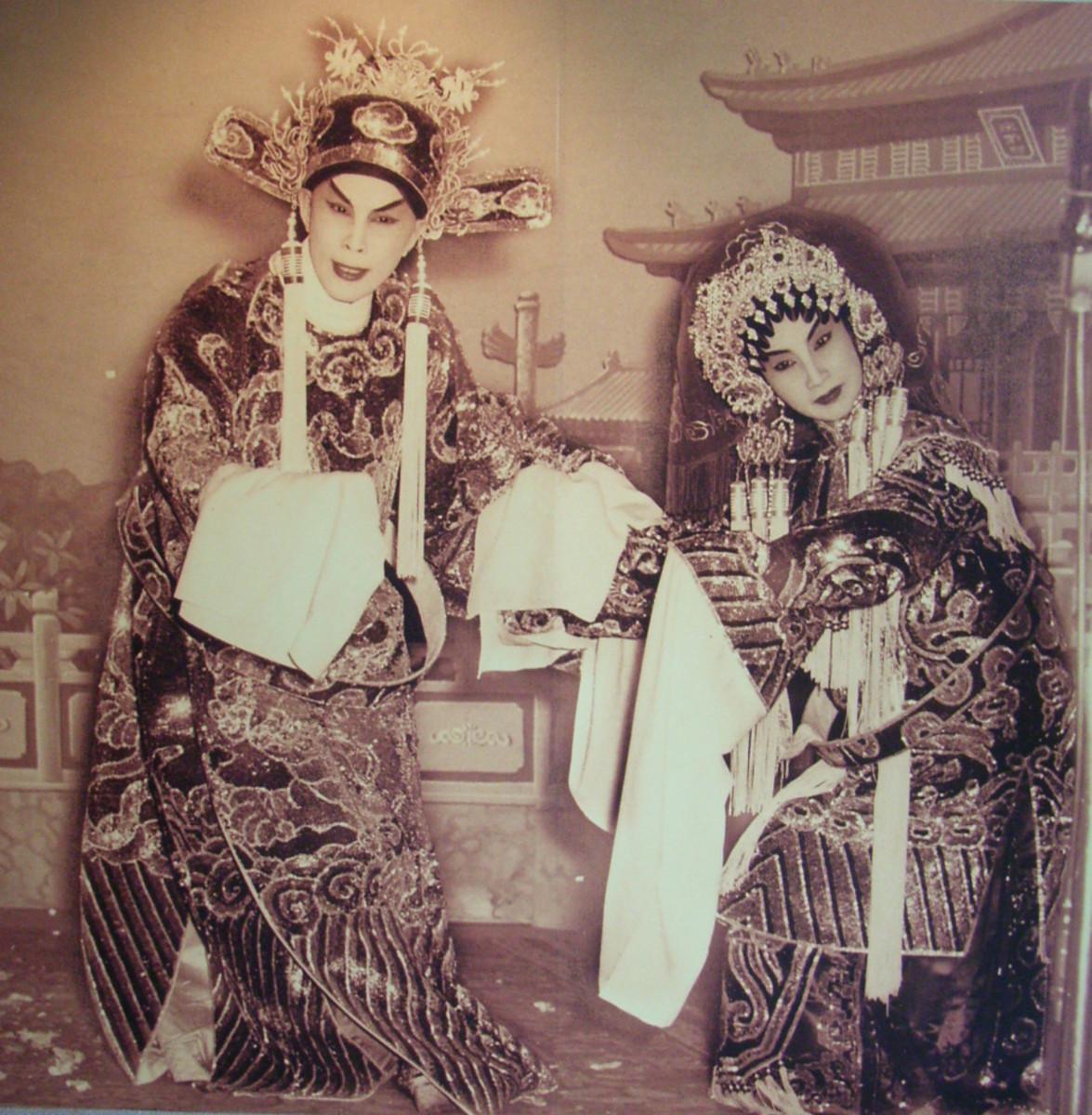 Cantonese opera Di Nu Hua and Yam-Pak