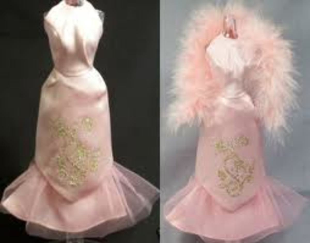 Sears Exclusive Pink Formal for Barbie Doll