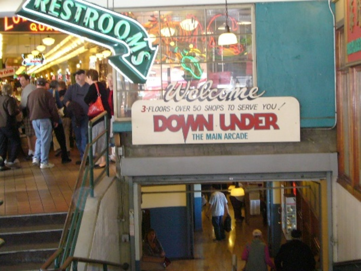 Pike Place Market Arcade