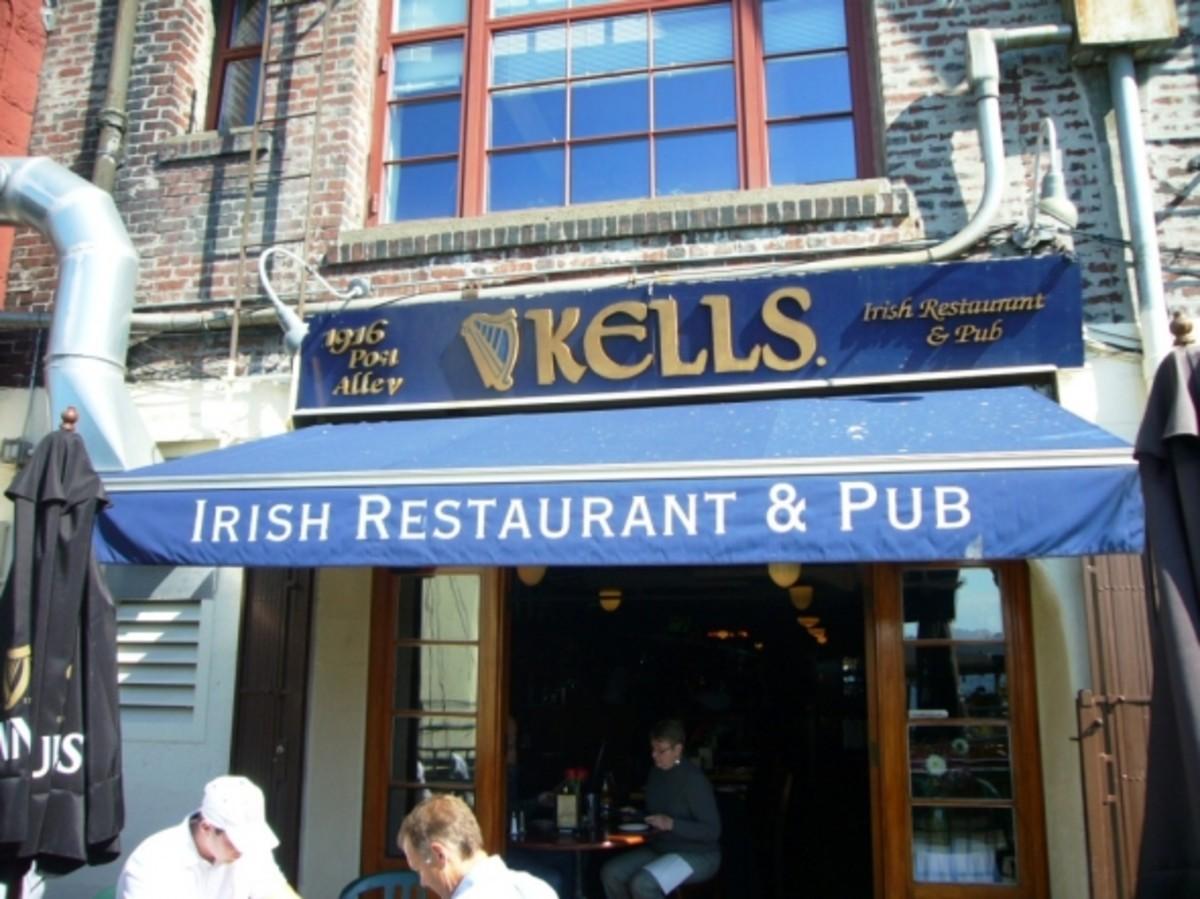 Kells Irish Pub Pike Place Market Seattle
