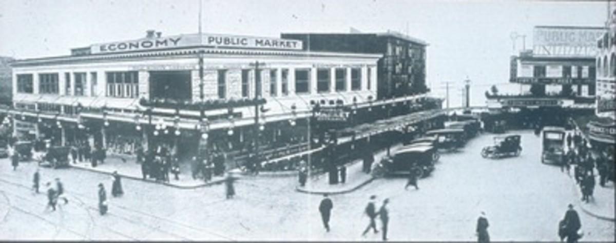 Pike Place Market Economy Market Building