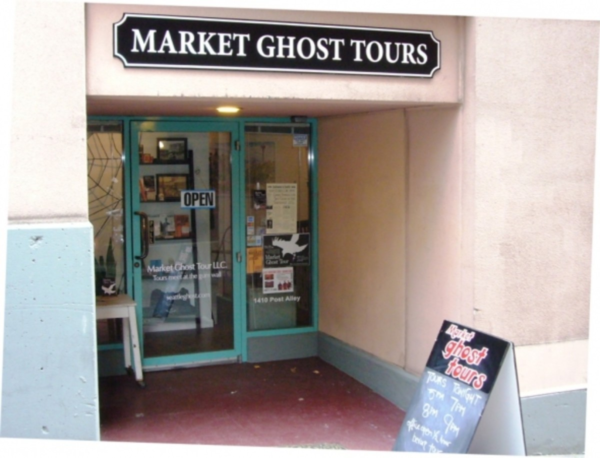 Pike Place Market Ghost Tours