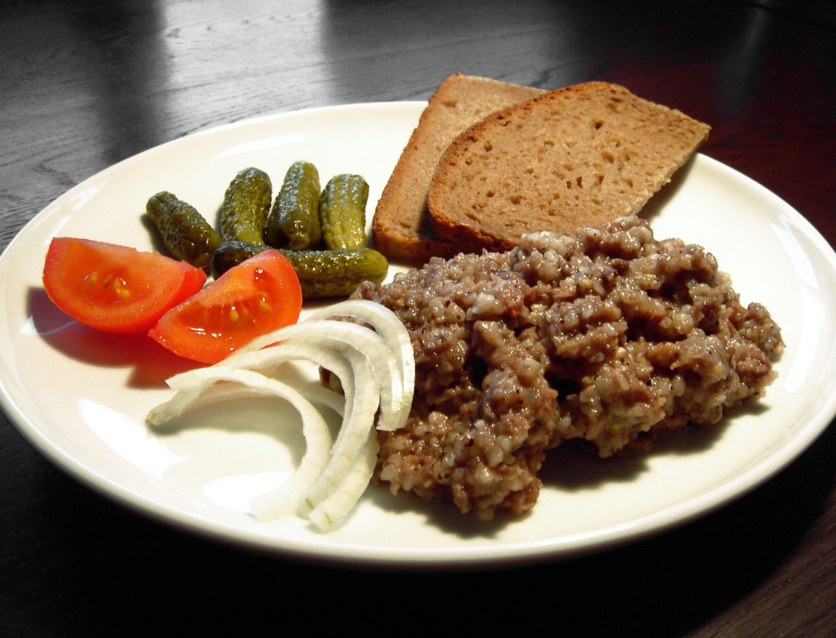 Hungarian Food - Beef Ragout (Marhatokány)