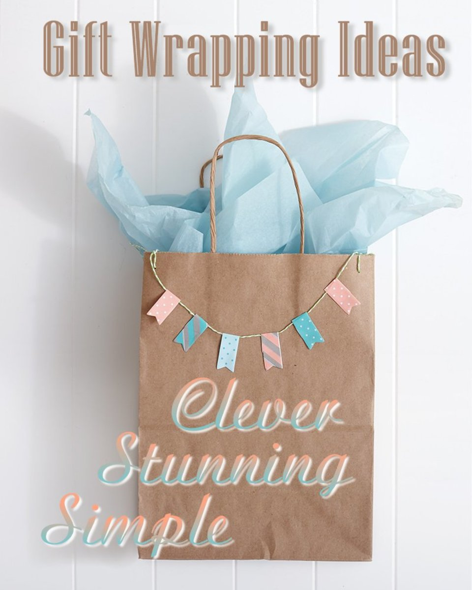 Clever Stunning and Simple Gift Wrapping Ideas