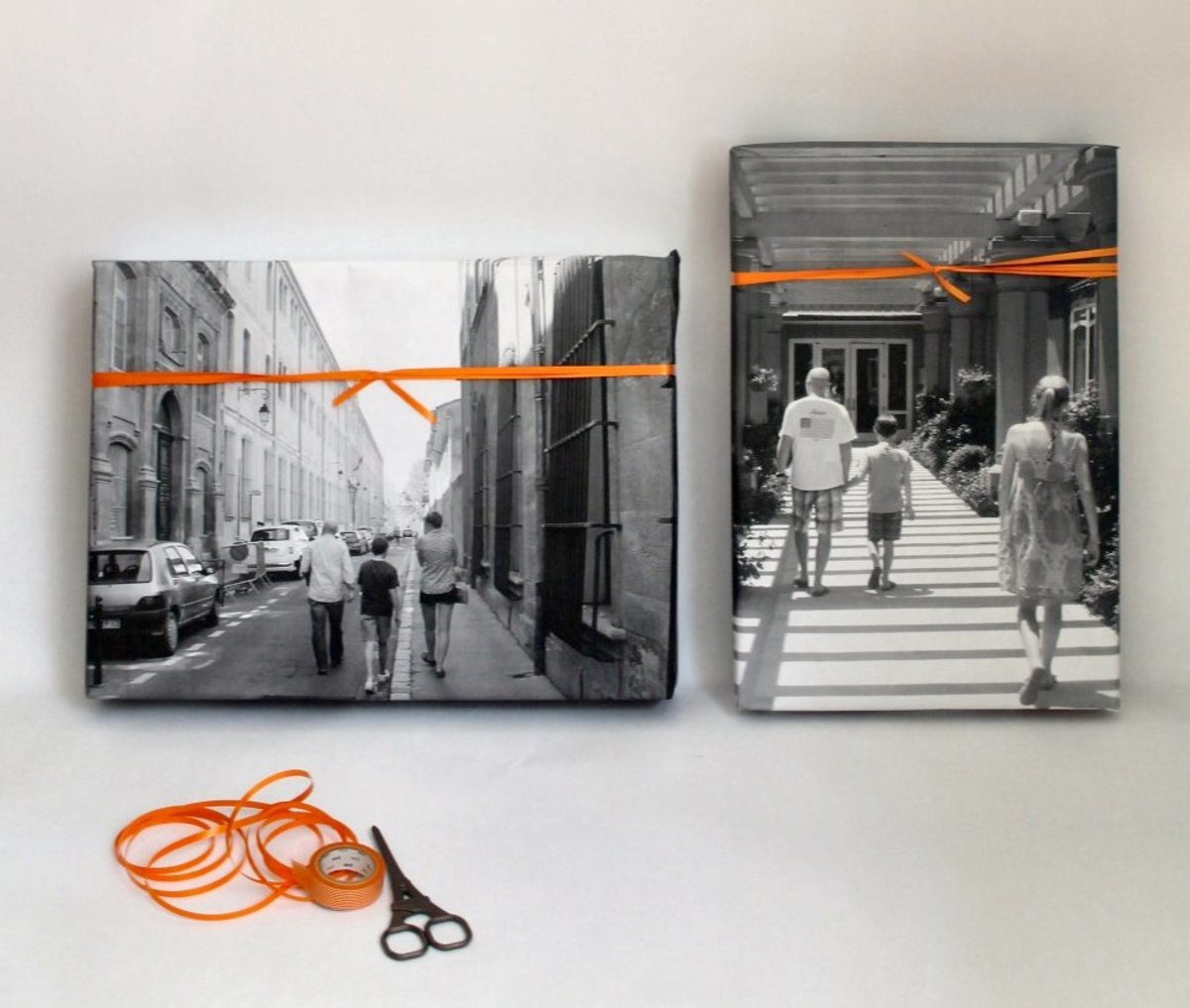 Custom photo paper is a clever way to dress up that gift for dad or grandpa this Father's Day.