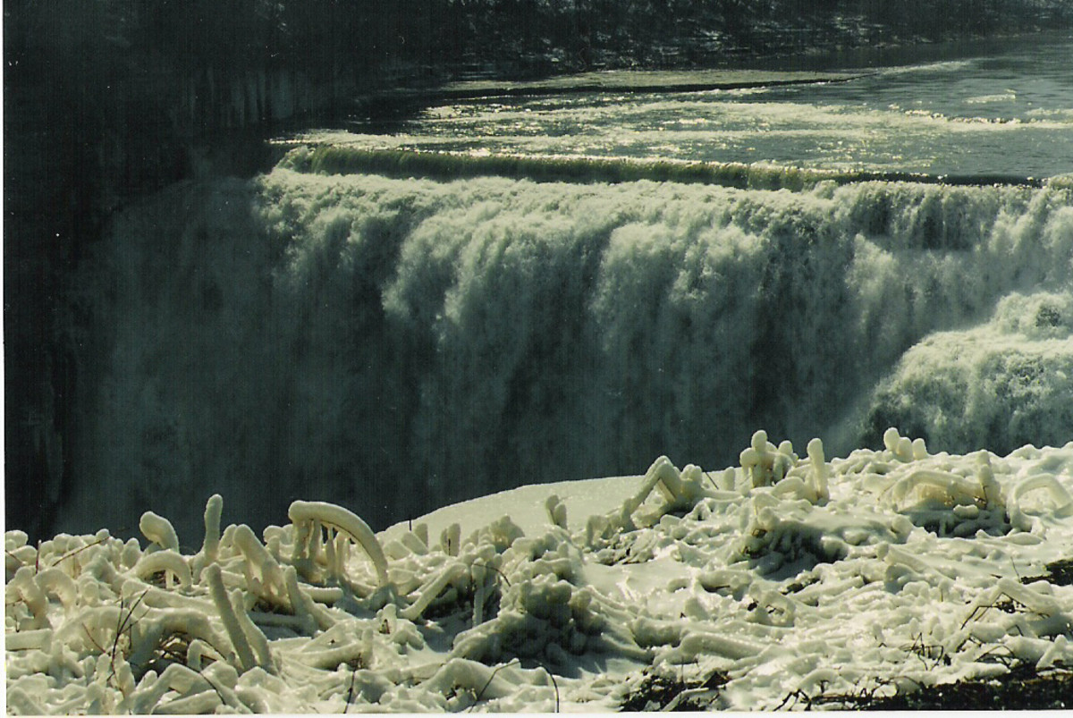 Middle Falls. Letchworth State Park, New York.