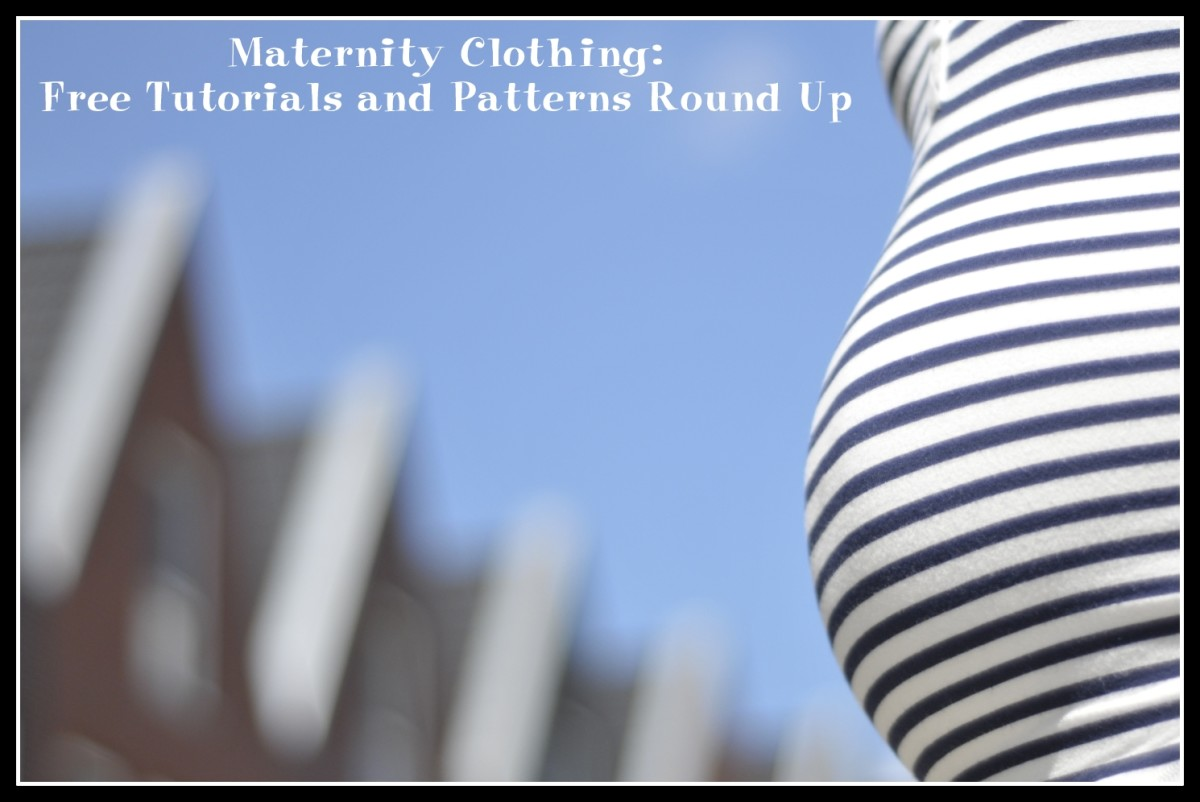 Maternity Clothing: Free Tutorials and Patterns Round Up
