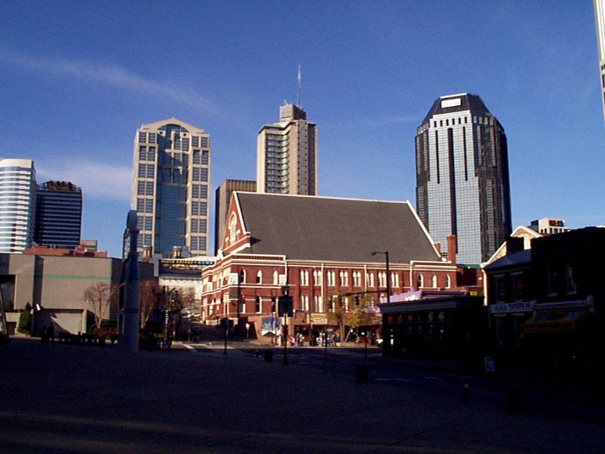 Another view of the Ryman, a very unique building.