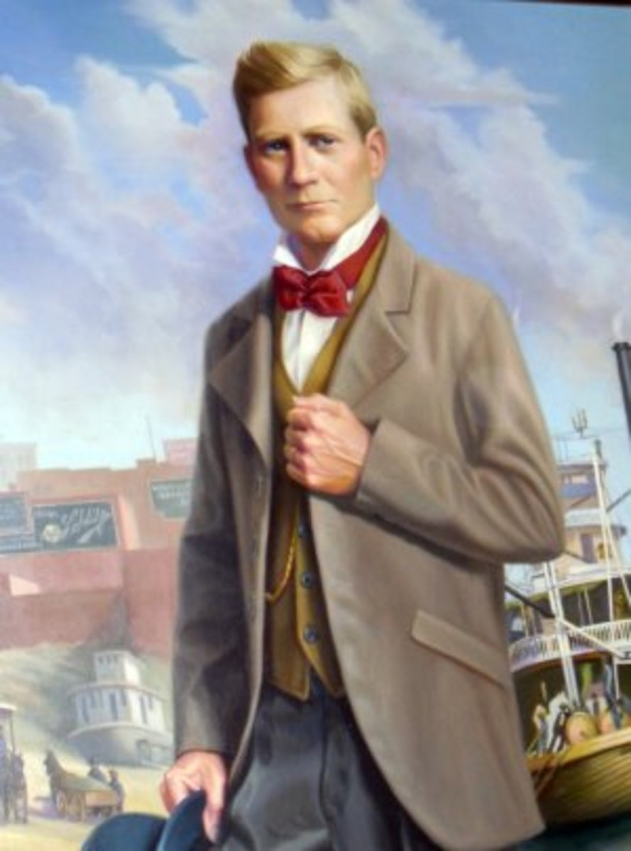 "Thomas G. Ryman, the riverboat captain that the Ryman Auditorium is named after. And a ""ghost"" that still haunts the Ryman to this day."