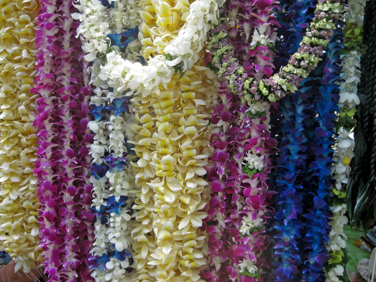 How to Make a Flower Lei