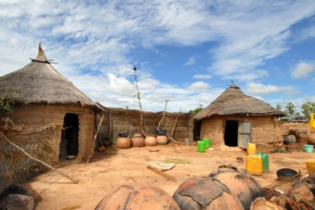 Traditional African Setting