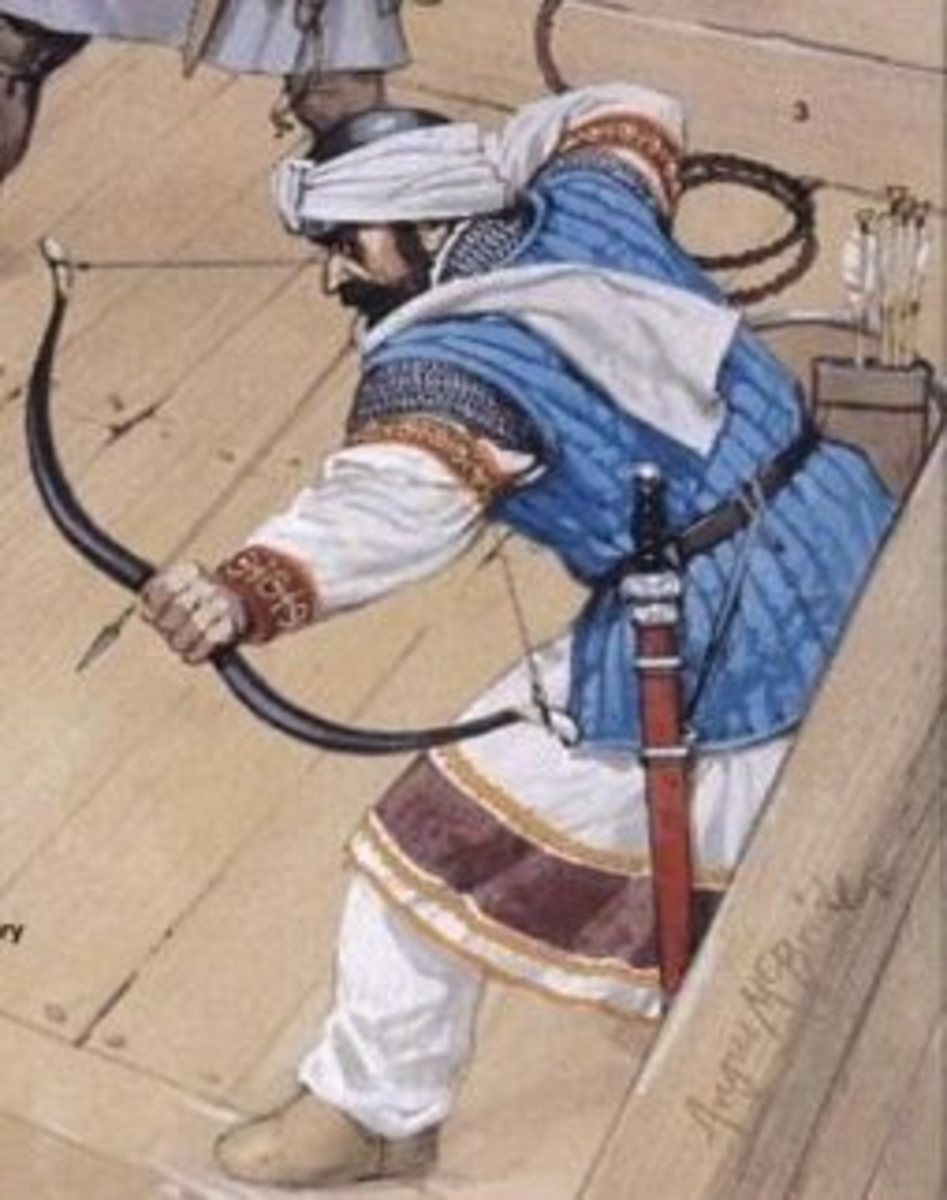 Portrayal of a Sicilian Saracen Archer