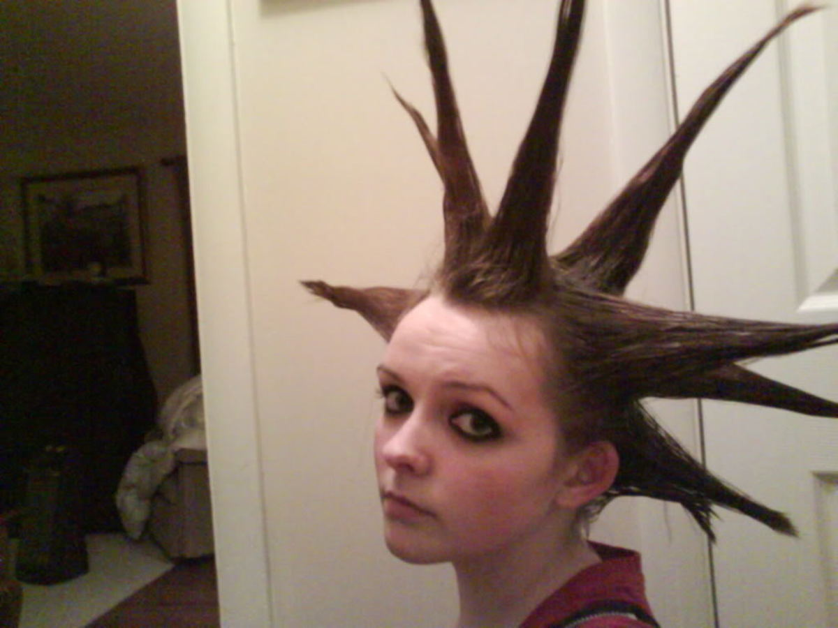 Liberty Spikes Hair Styles