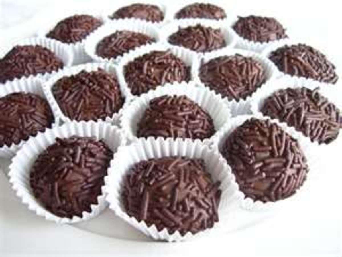 Brazilian Chocolate Truffles (Brigadeiros)