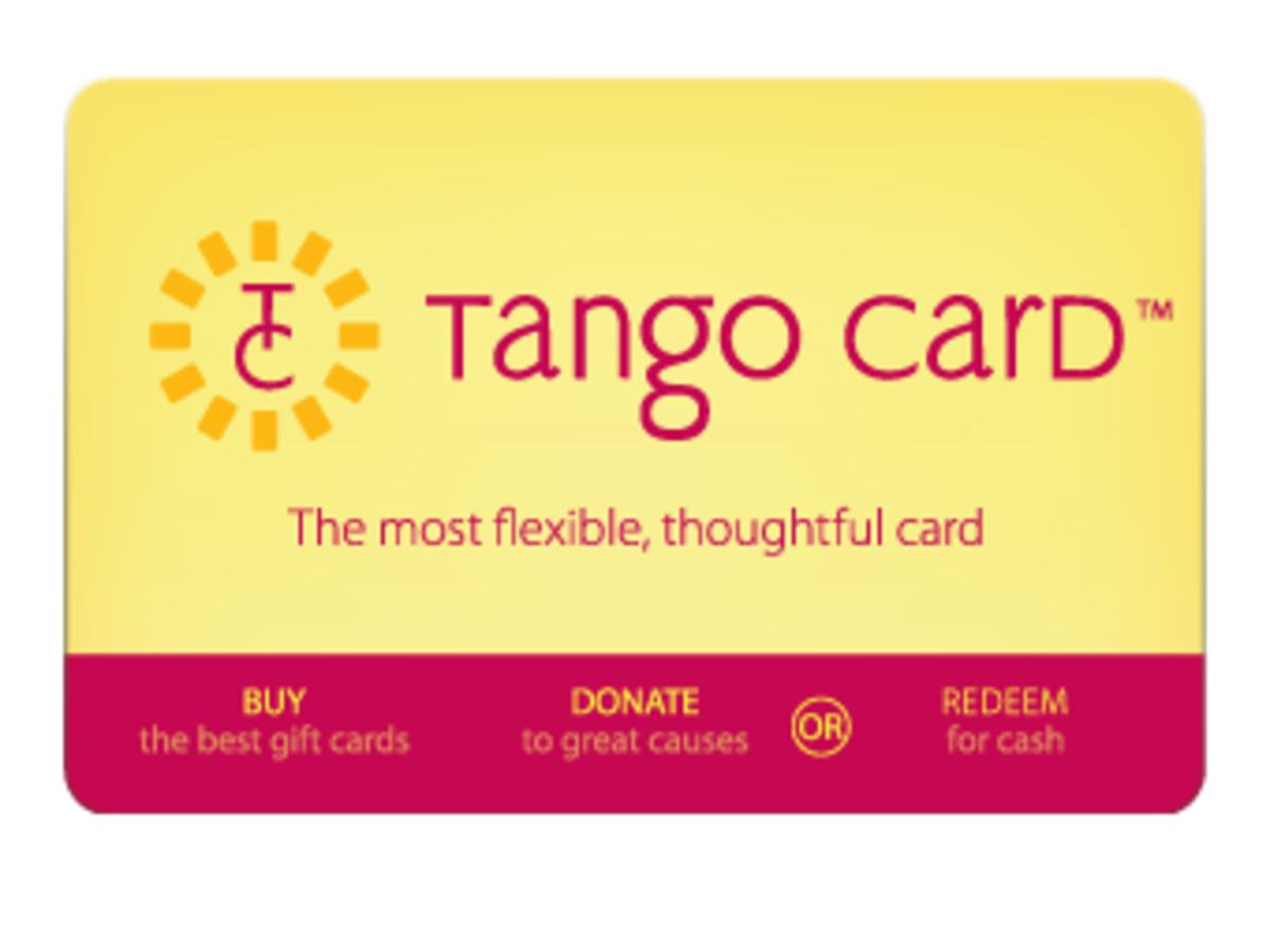 Tango Card Review - A Flexible Gift Card for Picky People