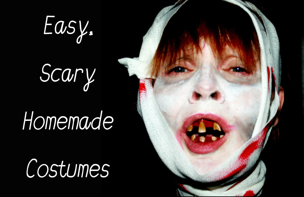 Easy and Scary Homemade Halloween Costumes | HubPages