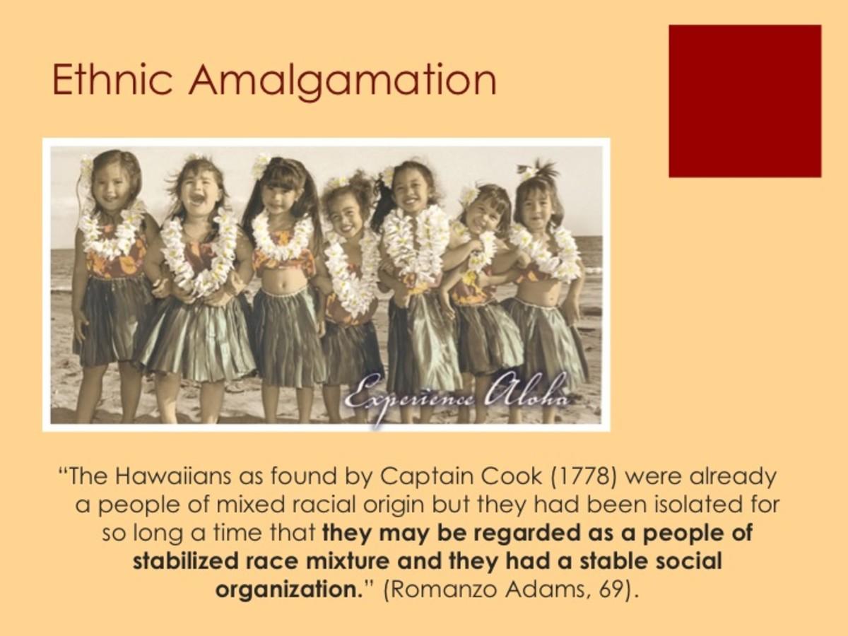 Ethnic amalgamation in Hawaii