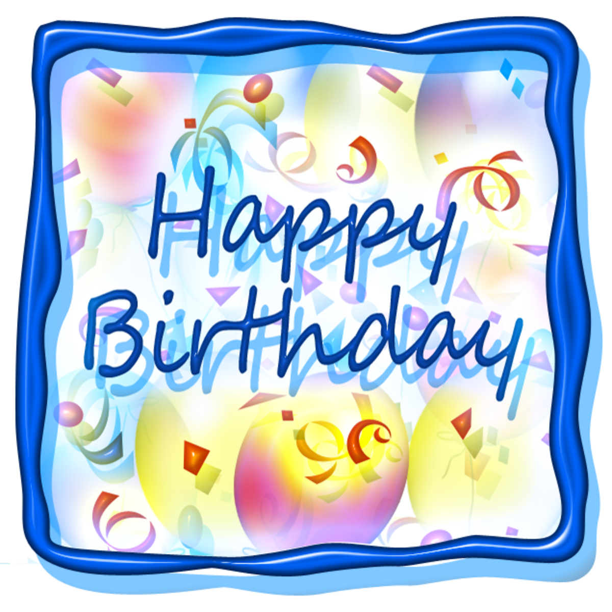 Happy Birthday Clipart Free