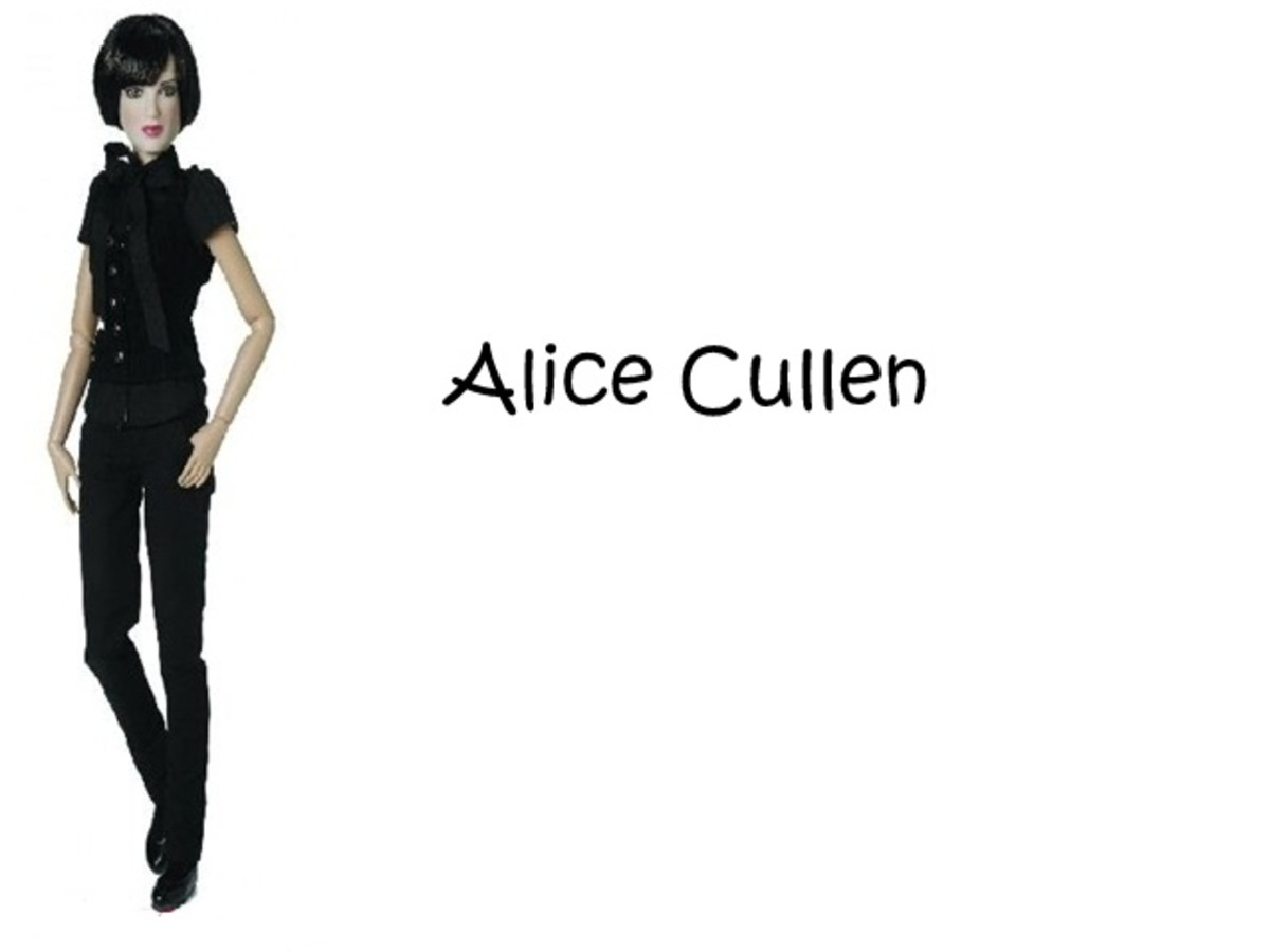 Alice Cullen Doll