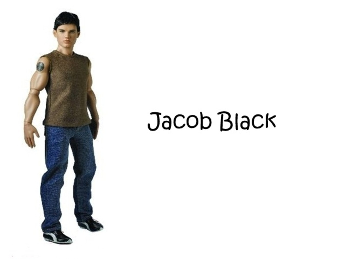 Jacob Black Doll