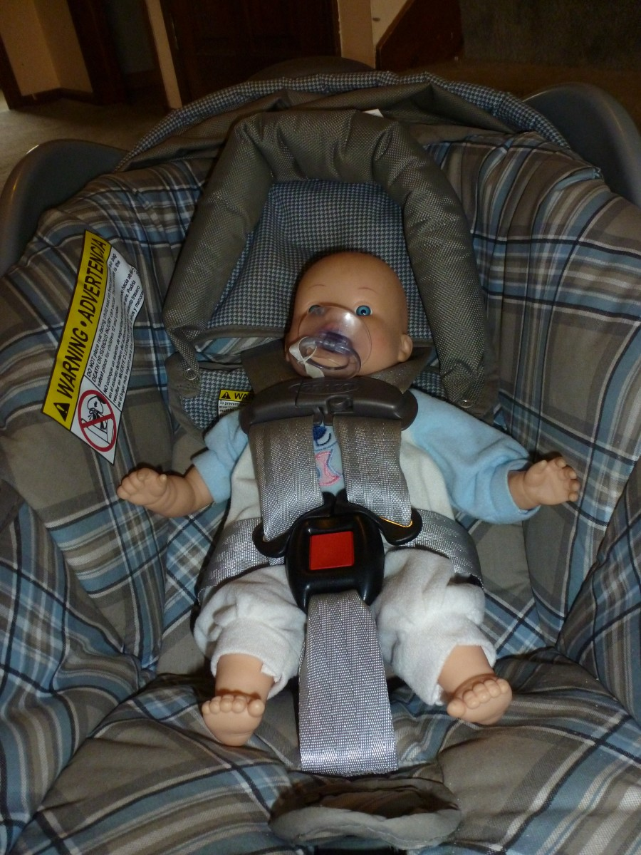 """This infant seat appears to be """"new,"""" but it is really seven years old. This seat is no longer safe for use - it will have to be destroyed."""