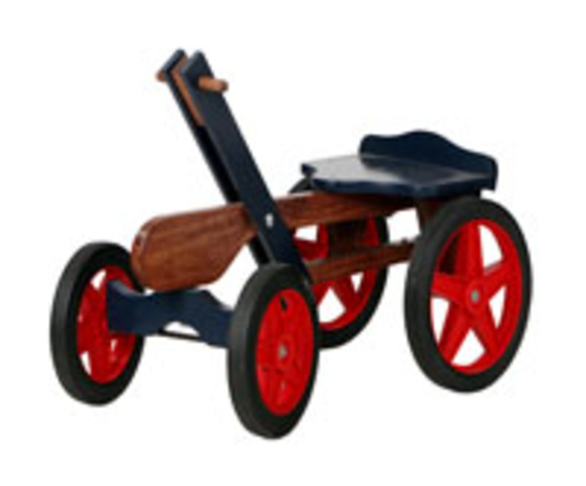 Handcar Kit and Plans from Cottage Craft Works