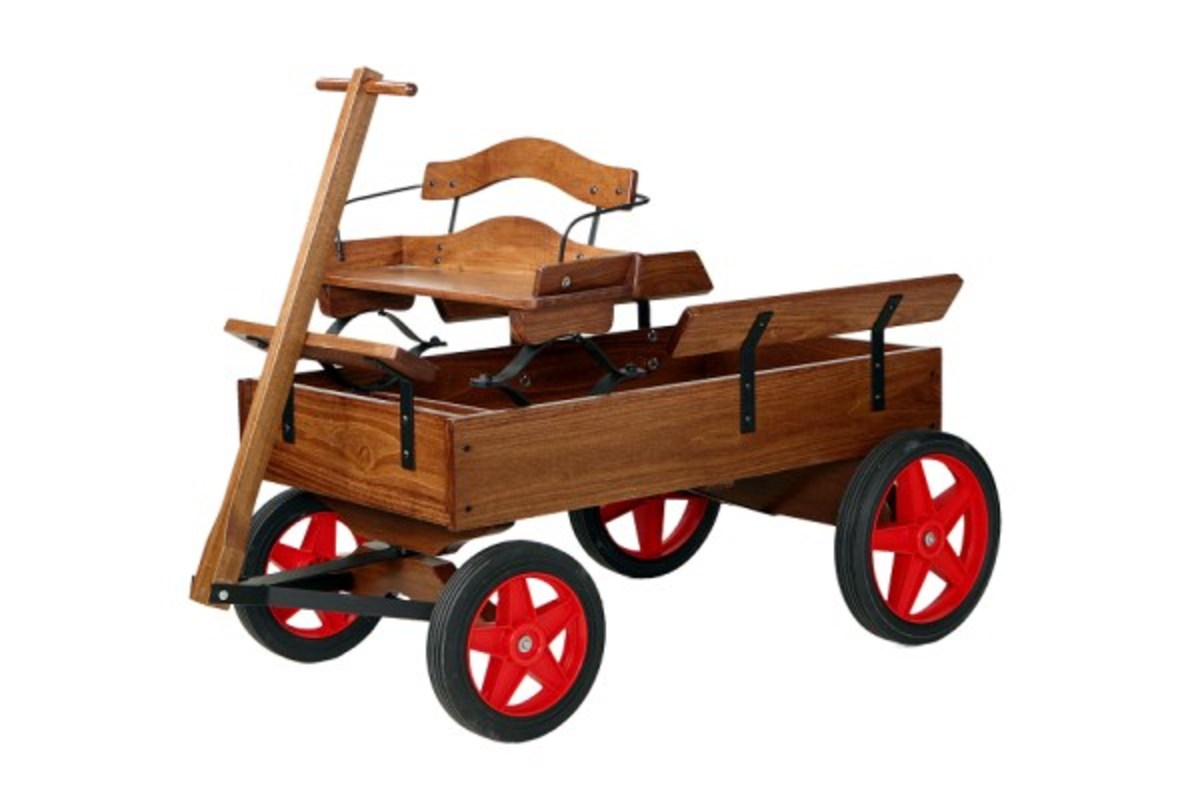 Buckboard Wagon Kit and Plans from Cottage Craft Works