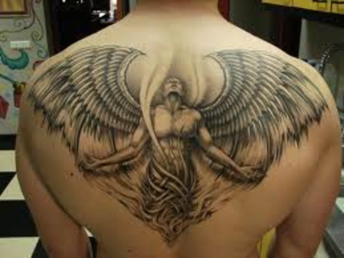 Religious tattoos have emerged once again, possibly cause of 2012.