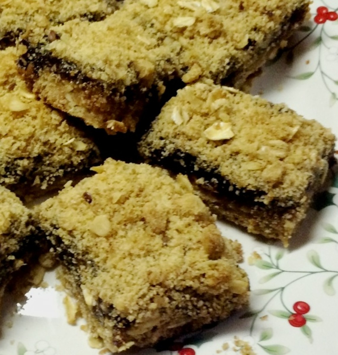 Mincemeat Bars With Delicious Crumbly Topping