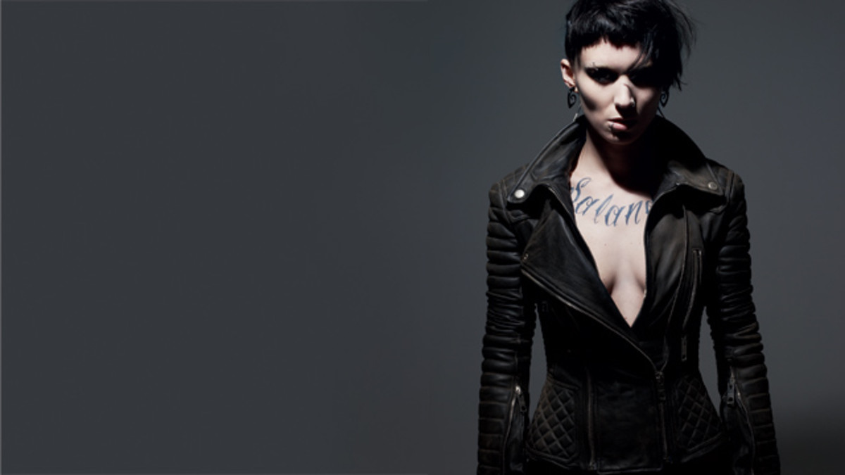 Lisbeth Salander Girl with the Dragon Tattoo Costume and Makeup