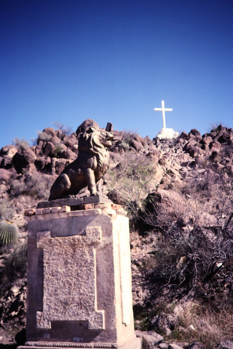 Area around Mission San Xavier del Bac