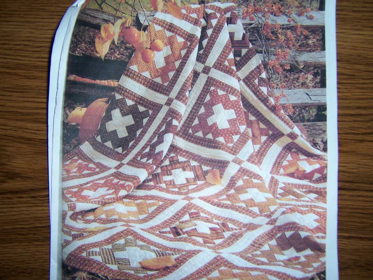 This album quilt is a type of traditional quilt.