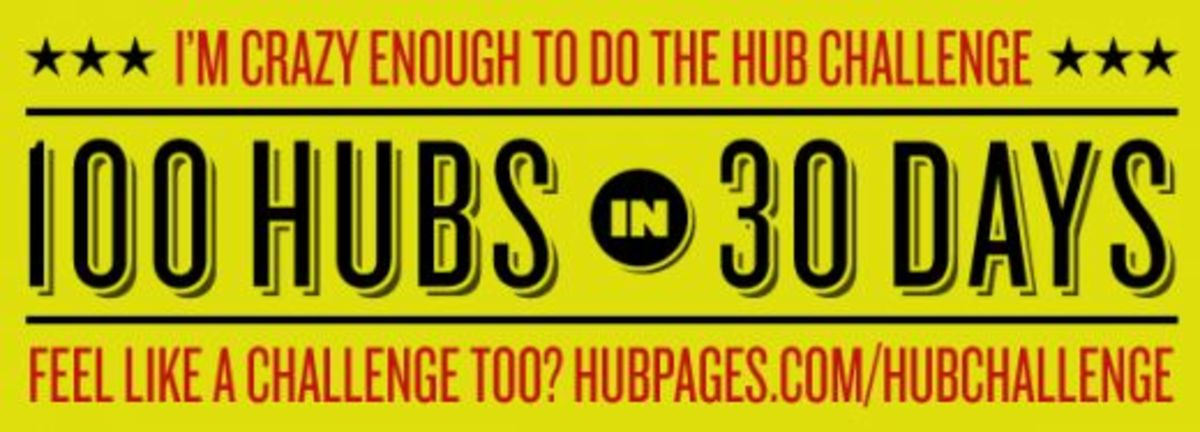 Day 1: Hub 4 of 100 in 30 days