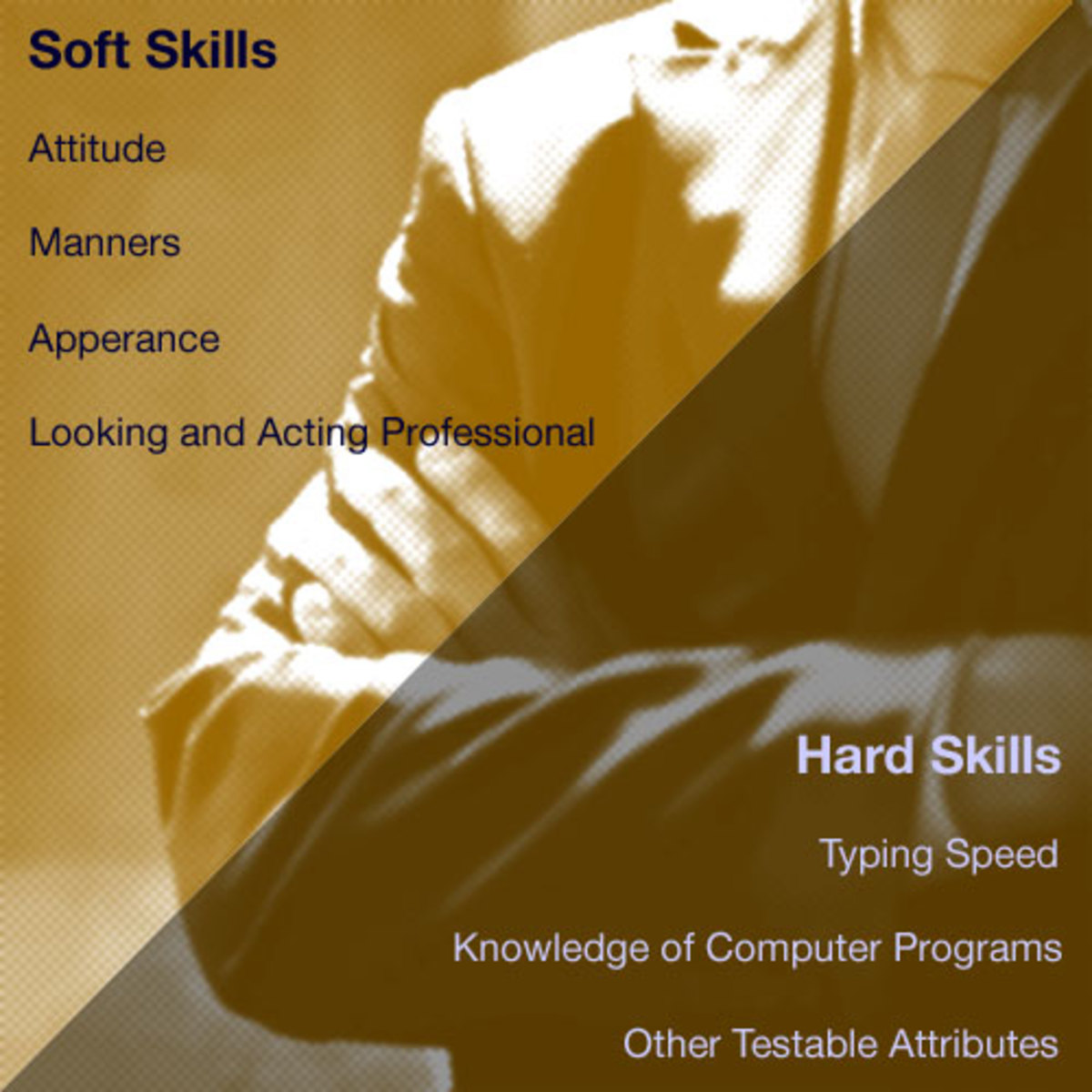 highlight your soft skills and hard skills--employer's love that!