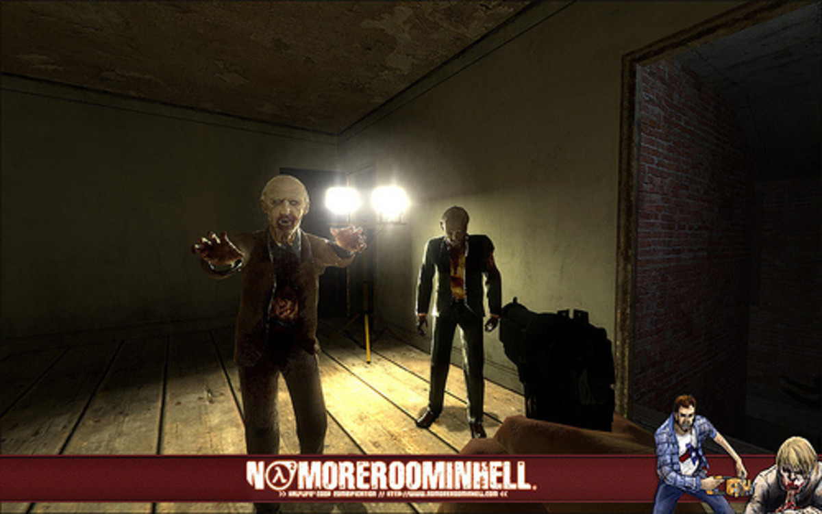 No More Room in Hell bridges the gap between a mod and a professional game.