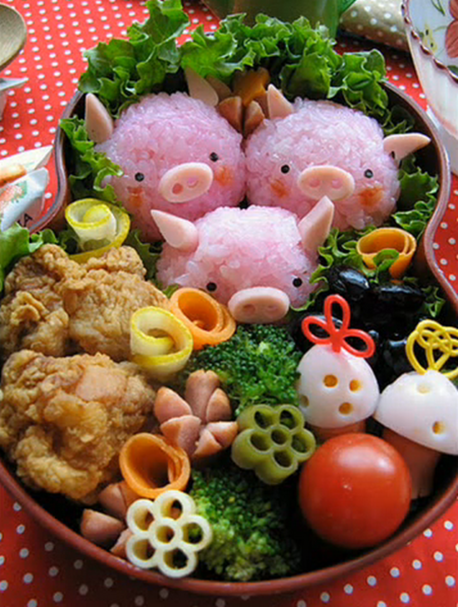 Making Bento and Charabens: The Japanese's Crafty Way to Eat