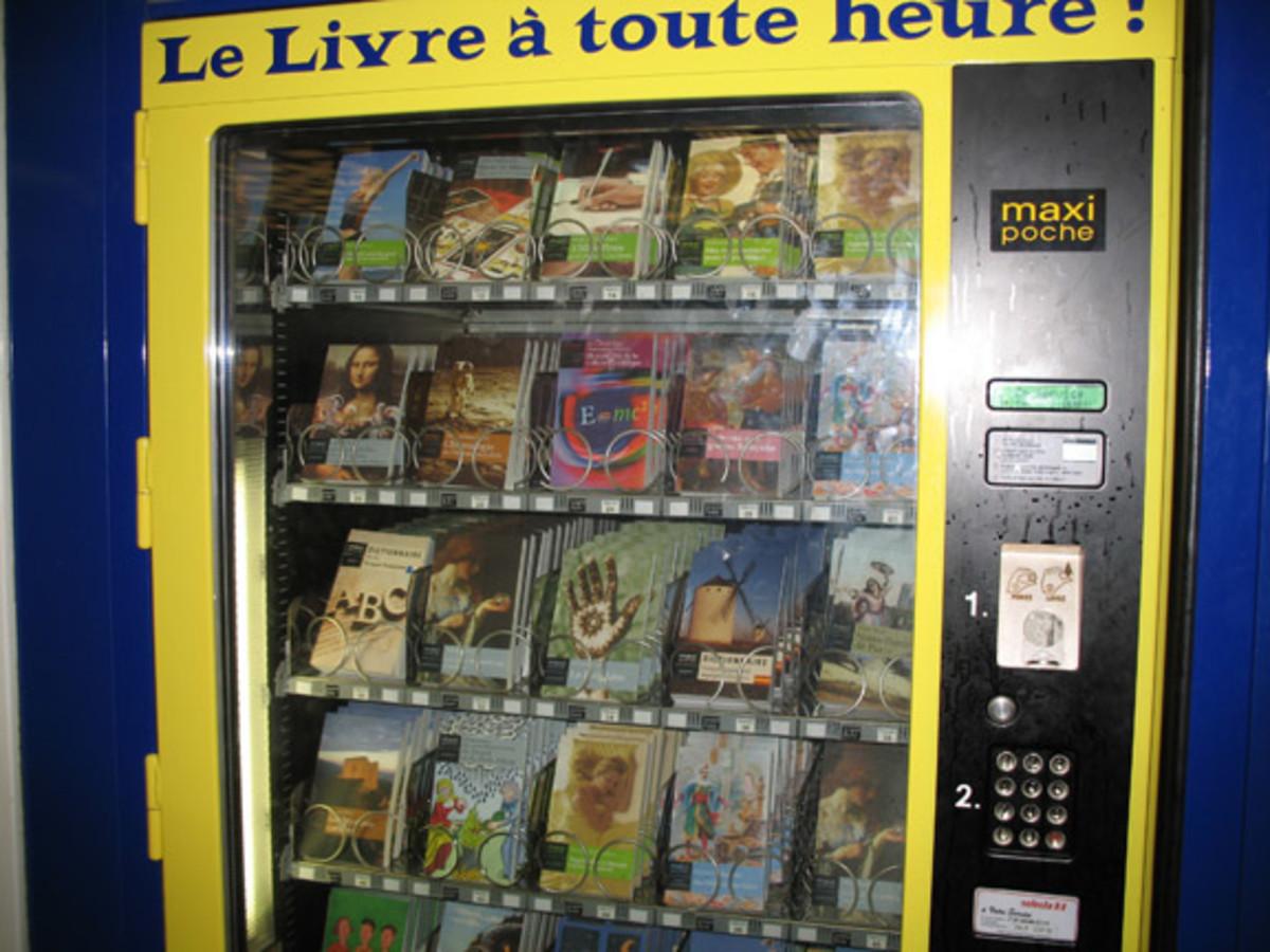 Vending Machine Panties?