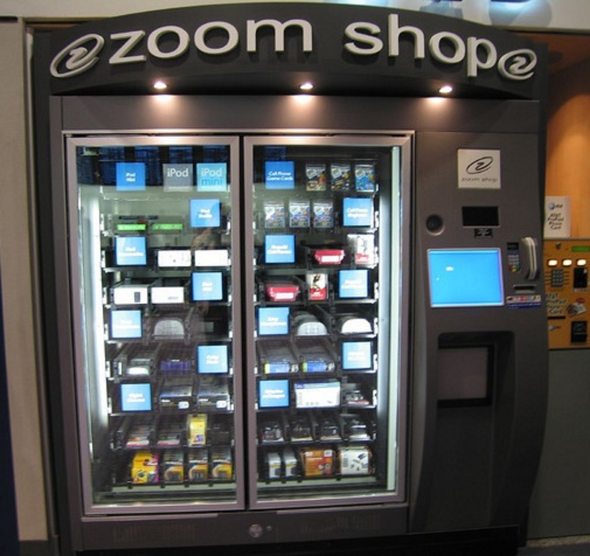 pod vending machine