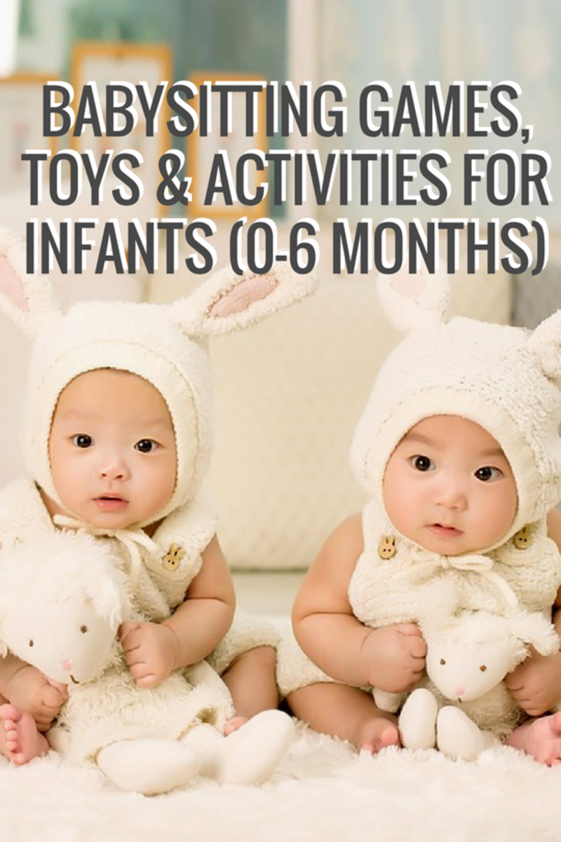 Babysitting Games, Toys and Activities for Infants (0-6 Months) Checklist
