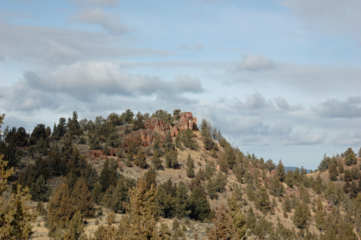 Barnes Butte IronHorse Trail Prineville Oregon
