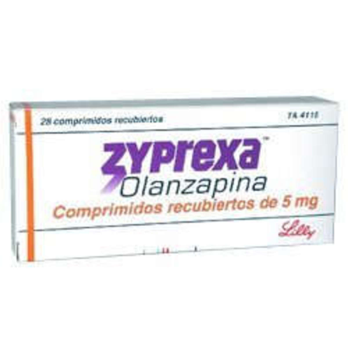 Why does antipsychotic Olanzapine (Zyprexa) increase appetite and cause weight gain