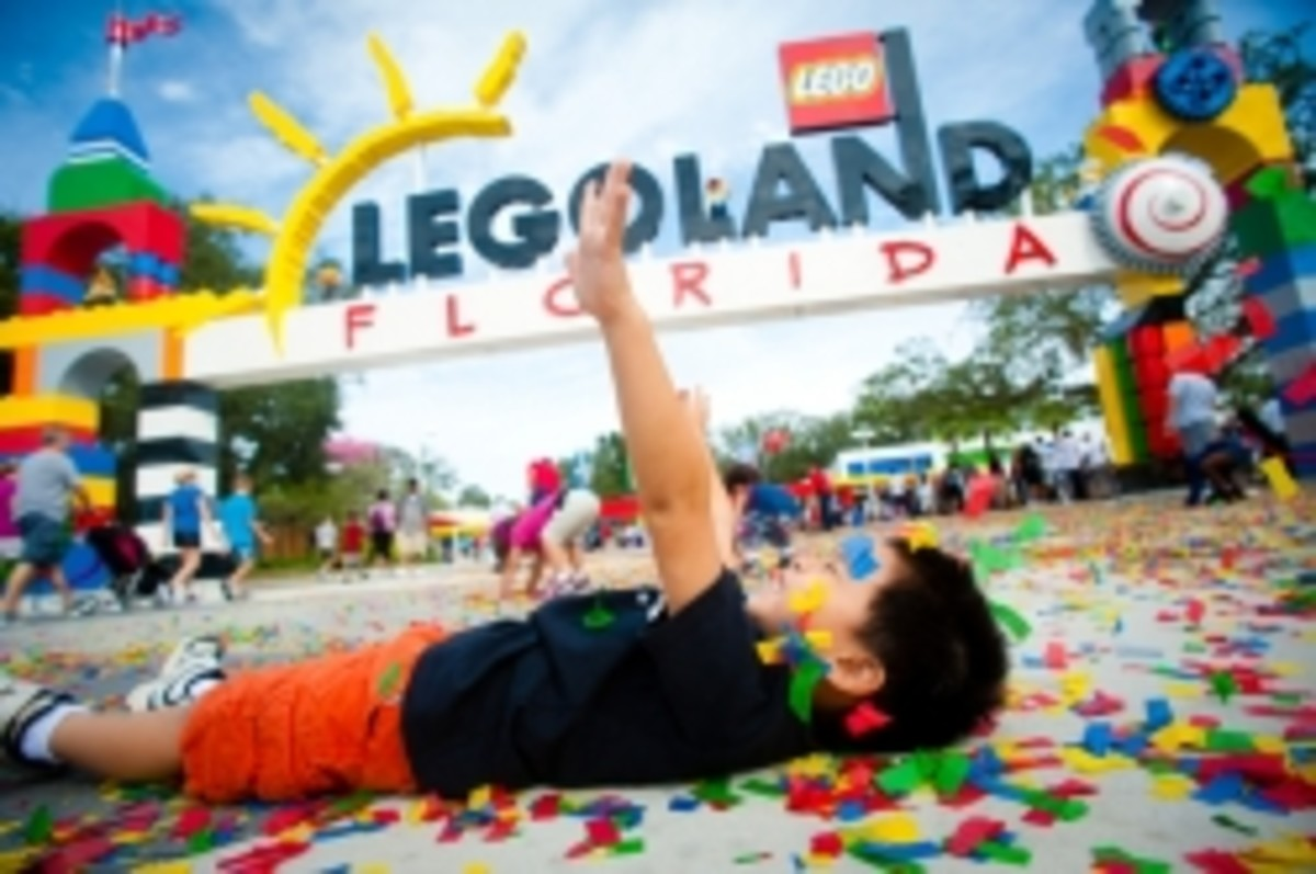 Pregnant at LEGOLAND Florida