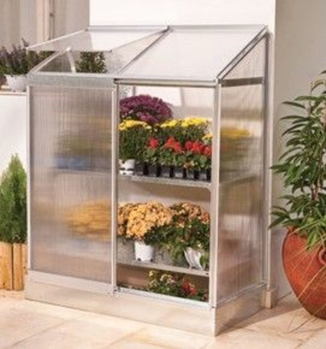 Palram Lean to Greenhouse